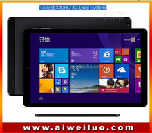 original 10.1 Inch Teclast X10HD 3G Dual System Z3736F 2.16GHz Tablet PC Android4.4+Windows8.1 2560x1600 Air Retina 2GB /64GB