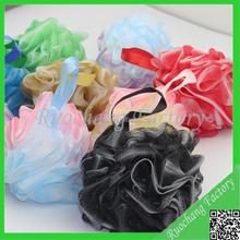 Wholesale flower body pouf bath lily shower pouf super soft rich bubble new design