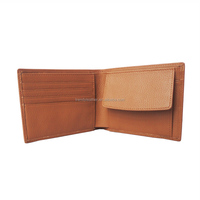 Designer men wallet genuine leather with coin pocket