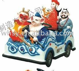 Açık hava eğlence ekipmanları pille çalışan oyuncak araba yolculuk batı bir. Syxyc