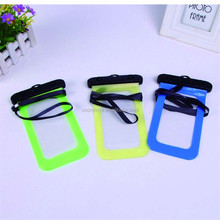 Universal Cell Phone Waterproof Bag For Apple iPhone, pvc waterproof case