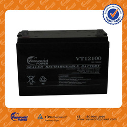 Valve regulated lead acid rechargeable storage gel batteries 12v 100ah for solar