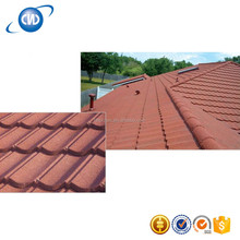 Colorful Stone Coated Waterproof Building Materials