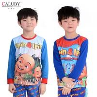 2015 new Boys Pajamas,Children's Glow in the dark underwear. Homewear