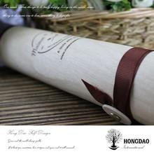 HONGDAO pine retro style square tree bark cheese boxes
