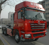 SHACMAN 6x4 tow tractor truck with CNG / LNG engine