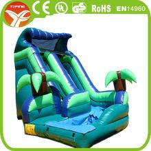 2015 inflatable toboggan slide