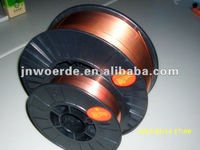 AWS ER70S-6 co2 welding wire GB ER50-6 / Welding wrie with co2 copper coated gas shield made in China