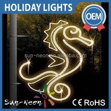 Outdoor Street Pole Lights Holiday Decoration Christmas Led Motif Lights