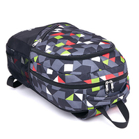 Fashionable Bright Printed Computer Backpack For GIrls