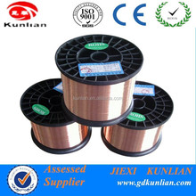 Copper Clad Aluminium Wire (CCA)/ High Quality Enamel Coated CCA Wire /cca bares wire