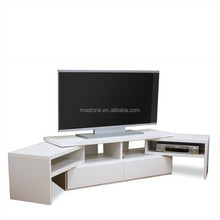 lcd tv cabinet model&l shaped plywood tv cabinet