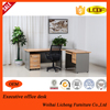 Wooden executive table designs /modern office furniture