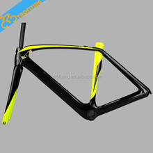 Made in china road bike frame,cheap price chinese carbon frames,beautiful specialized carbon frame for DIY