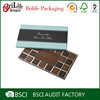Food-grade fancy cheap paper chocolate box with divider wholesale