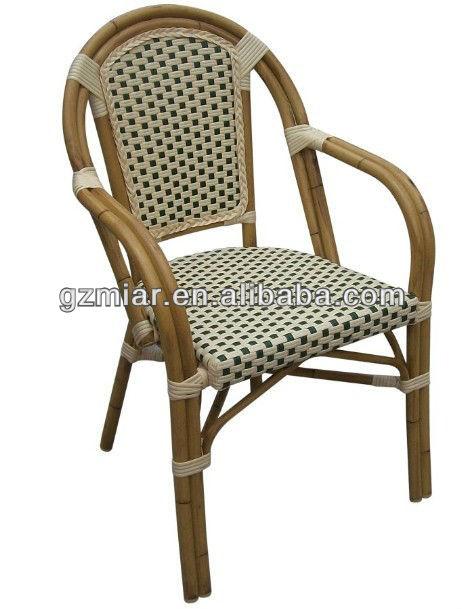 Restaurant Bamboo Rattan Chair 101016 Silla de restaurante