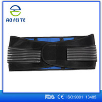 Private label neoprene double pull lower back support belt for back pain