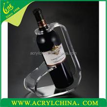 2015 Manufacturer supplies exquisite acrylic wine bottle display rack