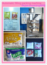 Factory supply plastic juice pouch filling and packing machine