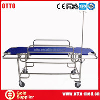 otto medical Stainless steel 4 wheels transfer stretcher