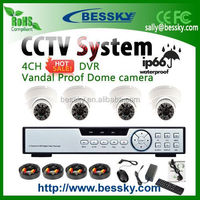 poe nvr kit,total vision camera system,low price cctv dome camera