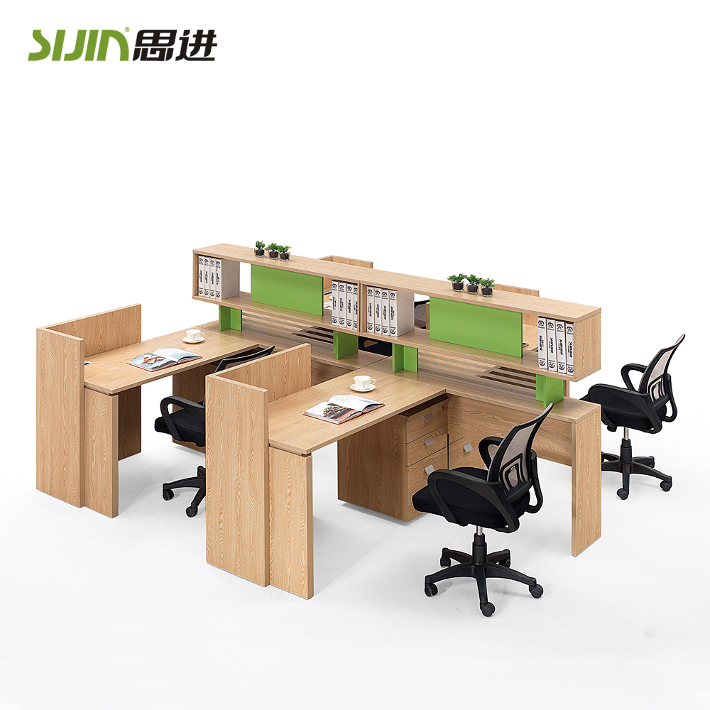 melamine modern movable wall partitions office furniture workstation