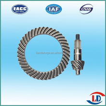 Automobile parts precision forged steel material bevel gear
