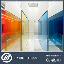 Clear tempered glass laminate glass floor with CE&ISO&CCC certificate, made in China