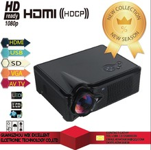 2015hotsell outdoor high lumens led projector Cheapest 3D 1080P 2600 lumens portable LED android wifi phone digital projector