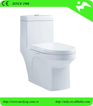 Best flushing energy water saving one-piece toilet ,lavatory ceramic toilet , ceramic siphonic floor mounted WC