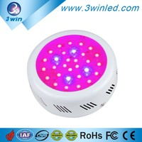High Effeciency Grow LED Lamp 90W Mini UFO LED Grow Light Full Spectrum for Hydroponic System Green House Commercial Grow