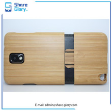 Wood Case for Samsung Note 3 Cherry Detachable Metal Cover Backup Hard Shell 01