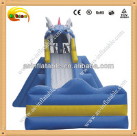 Giant inflatable dragon slid giant inflatable water slide for sale