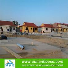 Low Cost large span modern cheap prefab homes new fast house concrete prefab light steel villa