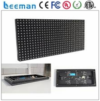dot matrix full color led display module moving Leeman P2.5 p3 p4 p5 p6 P7.62 P10 smd indoor led module 3w led module