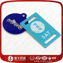 Custom printable rfid nfc pvc club membership card discount card hotel key card