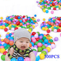 "Pack Of 300pcs Crush-proof non-PVC Plastic Ball Pit Balls in Multi Colors Phthalate Free 2.55"" Air-Filled-Guaranteed Crush-Proof"