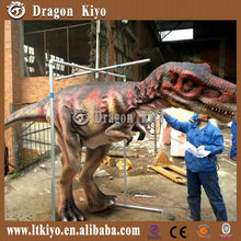 silicon rubber realistic handmade walking dinosaur costume for sale