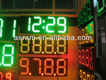 """aliexpress Alibaba 12"""" inch 8.889 4 digits outdoor led gas station price signs for petrol stations"""