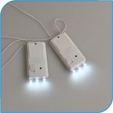 Novelty Item Battery Operated Super Bright LED Mini Paper Lantern Lights Hanging LED Floralyte