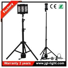 JGL unique design sports training led lighting system RLS835 powerful 120W CREE portable led tripod light