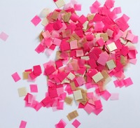wholesale handmade square paper confetti for wedding