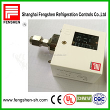 Single pressure controller switches