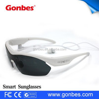 china wholesale UV400 wireless stereo Voice contorl sunglasses cheap mp3 glass