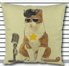 2015 Chinese factories supply alibaba fashion popular soft 100% cotton cat outdoor bed cushion