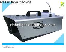Professional stage snow machine 1200w snow machine