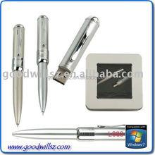 new+hotsale with metal box free laser logo 1G/2G/4G/8G 2.0 metal pen drive