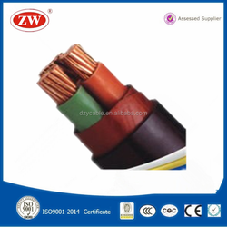 low voltage 70mm2 copper conductor pvc insulated power cable