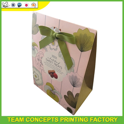 Different design cardboard packaging box for donuts