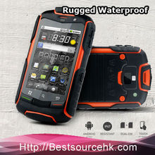 Waterproof Dual Sim Card Mobile Phone with 3G